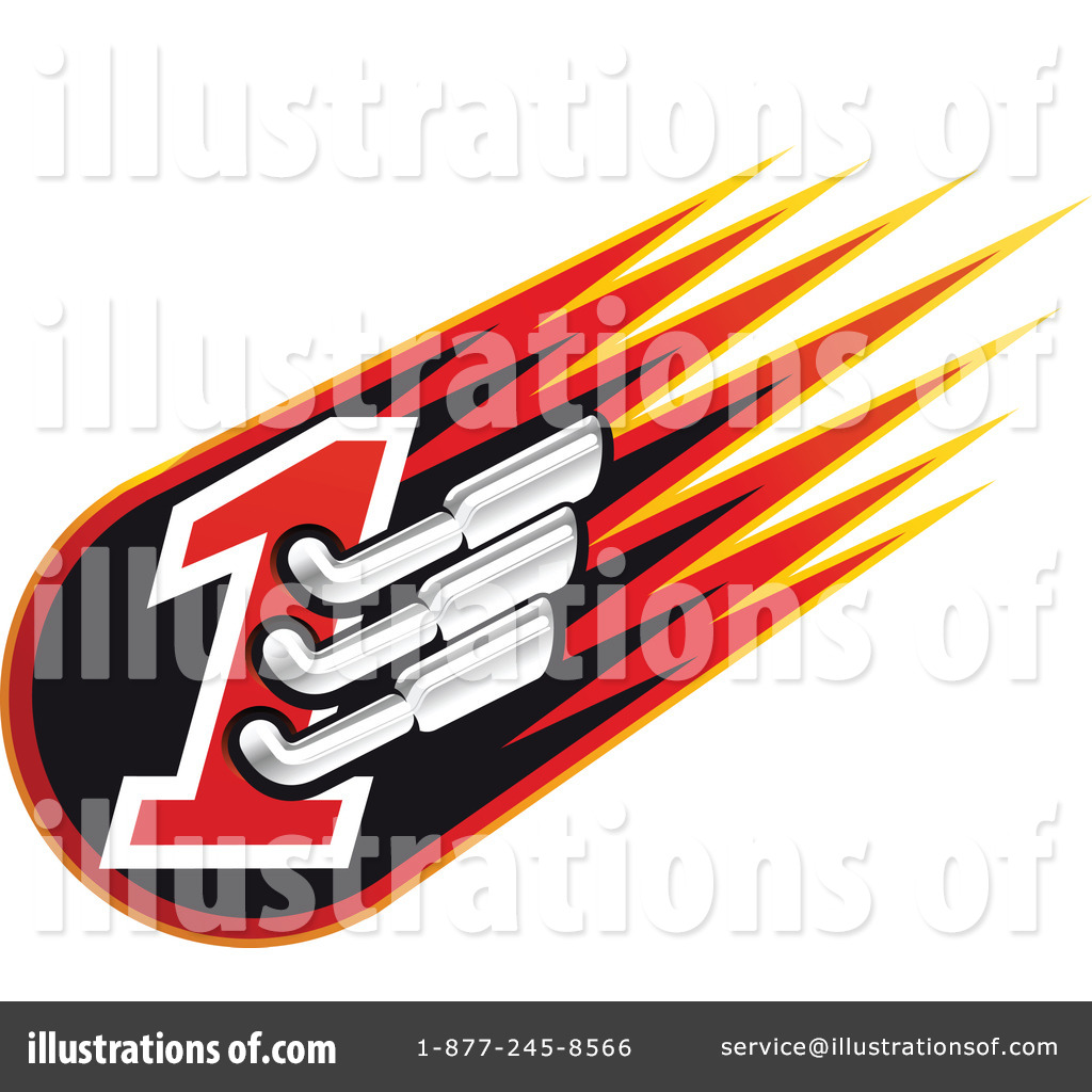 Motor Sports Clipart  1062336 By Seamartini Graphics   Royalty Free
