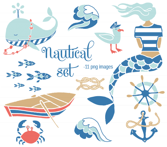 Nautical Set   The Ink Nest