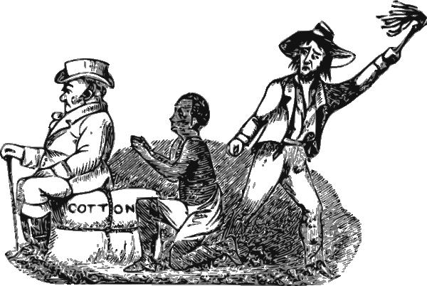Clip Art Slavery Clipart clip art african slaves clipart kid sad history slave worker at clker com vector art