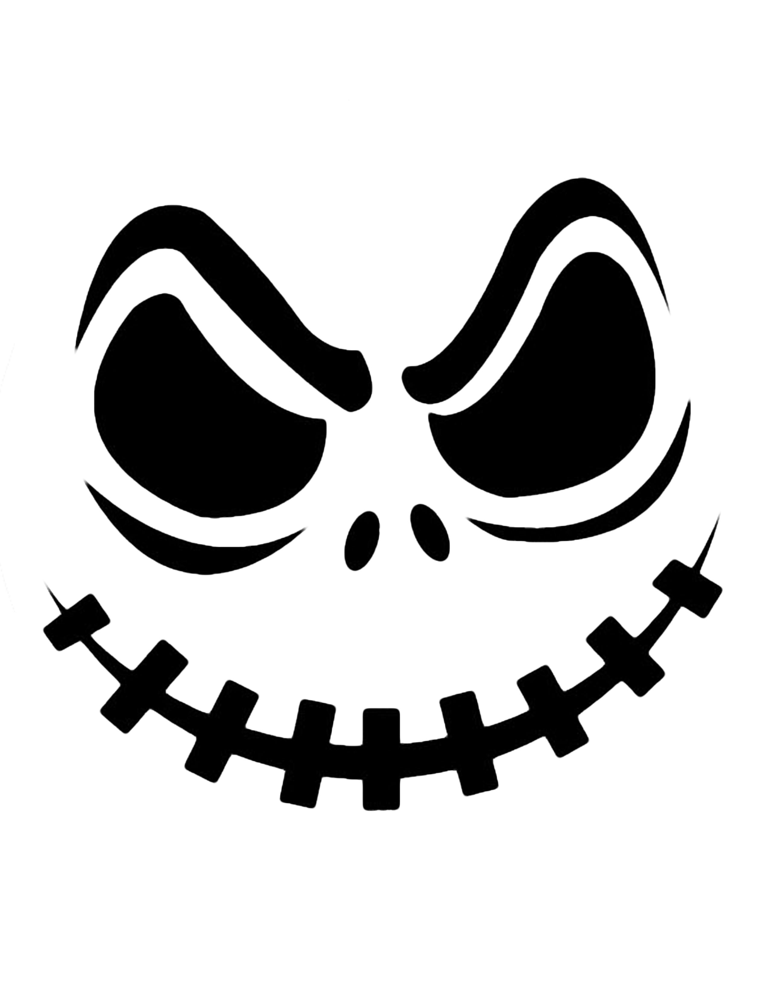 Scary Face Pattern Pumpkin Scary Face Pattern Pumpkin Free Pattern