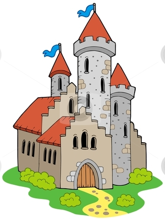 Simple Castle Clipart   Cliparthut   Free Clipart