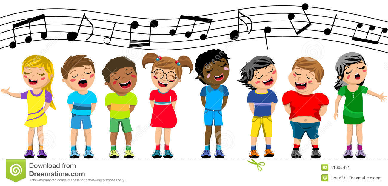 Students Singing Clipart - Clipart Kid