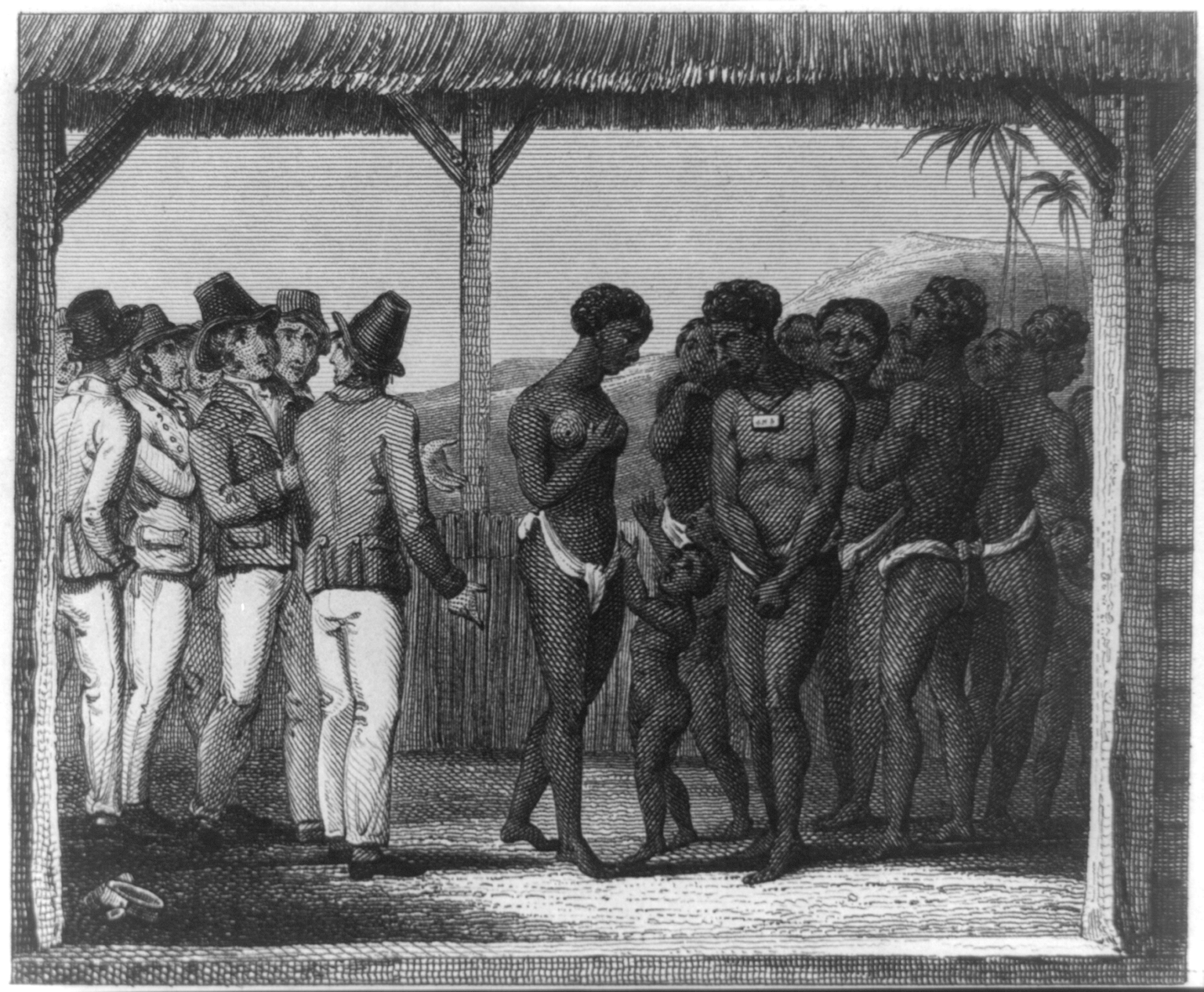 the action of america in eradicating the traces of slavery A slave market was erected at the foot of the first military action to result in the generation and resulted in the near destruction of native american.
