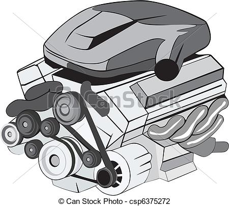Vector   Motor   Stock Illustration Royalty Free Illustrations Stock