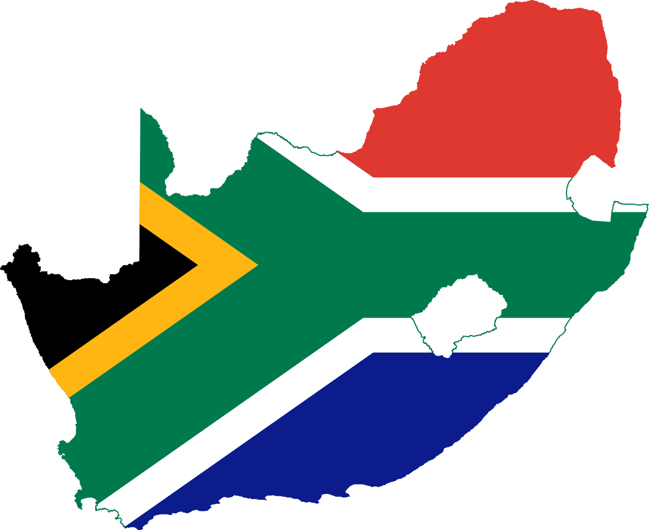 10 South African Flag Clip Art Free Cliparts That You Can Download To