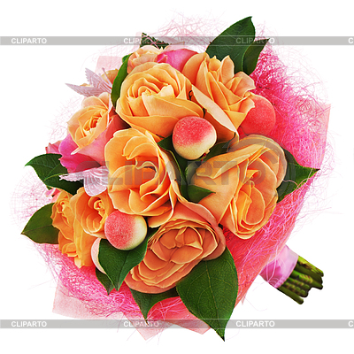 3874678 Colorful Flower Bouquet Of Roses  Jpg