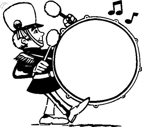 Clip Art  Marching Band