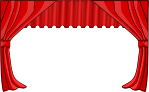 Curtain Clip Art At Clker Com   Vector Clip Art Online Royalty Free