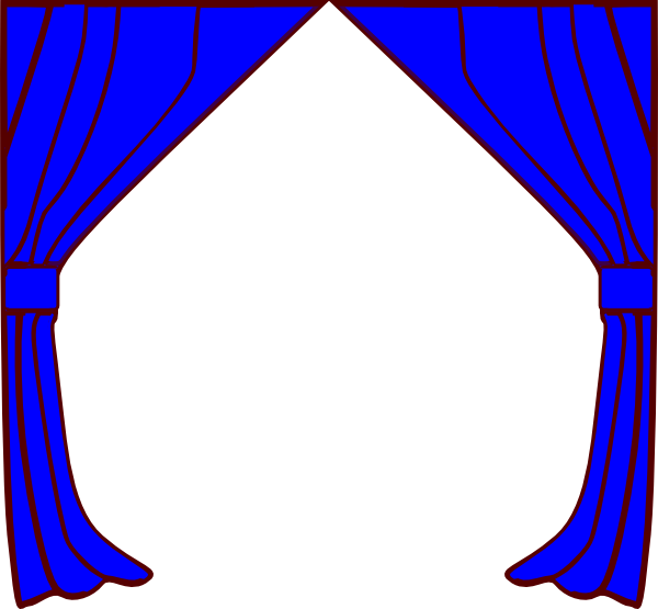 Curtains Clip Art At Clker Com   Vector Clip Art Online Royalty Free