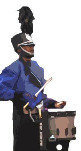 Drumline Clipart - Clipart Kid