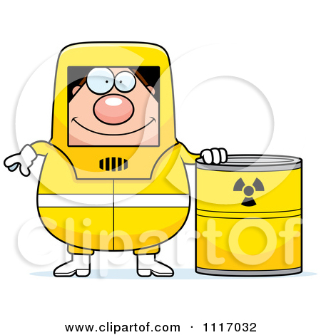 Hazardous Materials Cartoon Clip Art