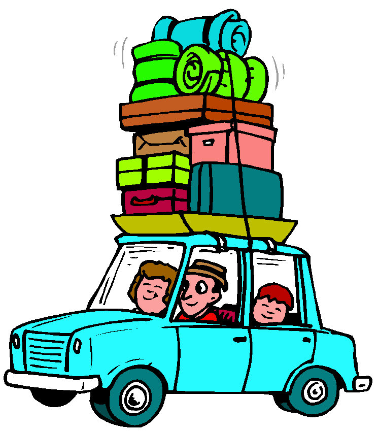 To Go On Vacation Clip Art