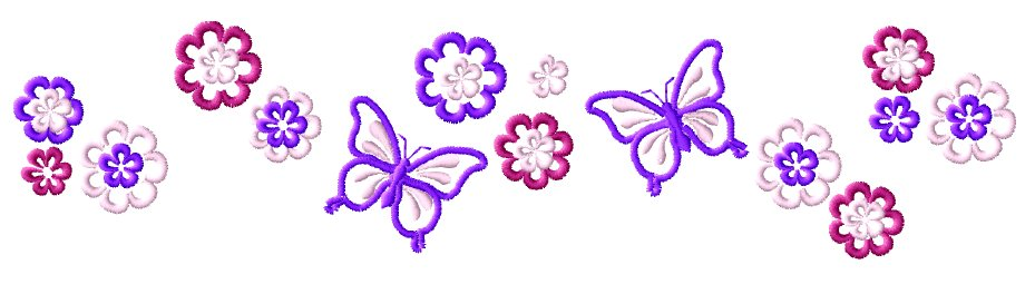 Light pink butterfly wallpaper www imgarcade com online image - Gallery For Gt Purple Butterfly Borders