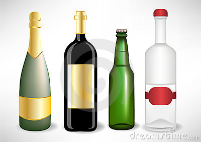 Liquor Bottle Clipart - Clipart Kid
