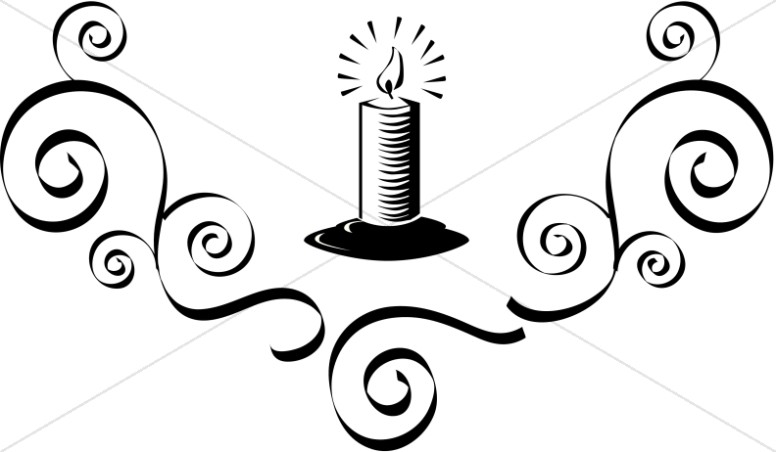 Church Candle Clipart Candle Images   Sharefaith