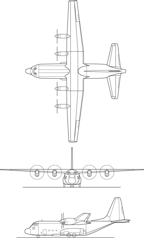 C-130 Clipart - Clipart Kid