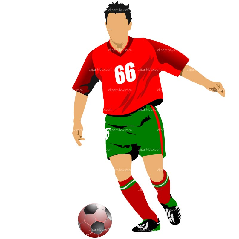 Clip Art Soccer Player Clipart soccer player clipart kid royalty free vector design