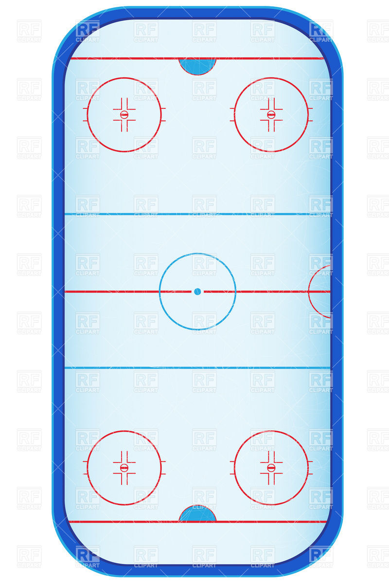 Empty Ice Skating Rink Clip Art Ice Hockey Stadium Layout