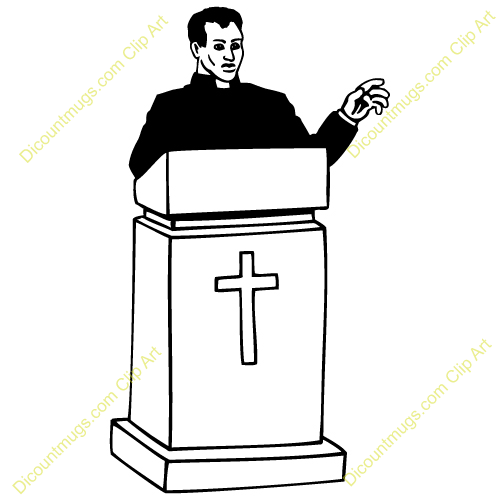 From The Pastor Clipart Free