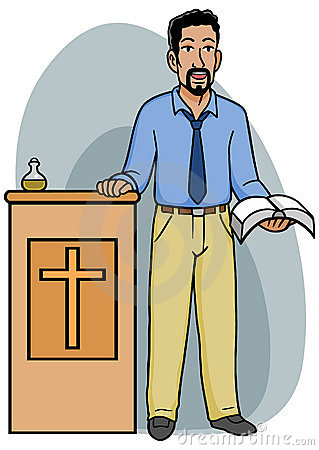 Church Pastor Clipart