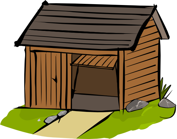 Shed Clip Art At Clker Com   Vector Clip Art Online Royalty Free