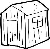 Shed Clipart Cartoon Shed