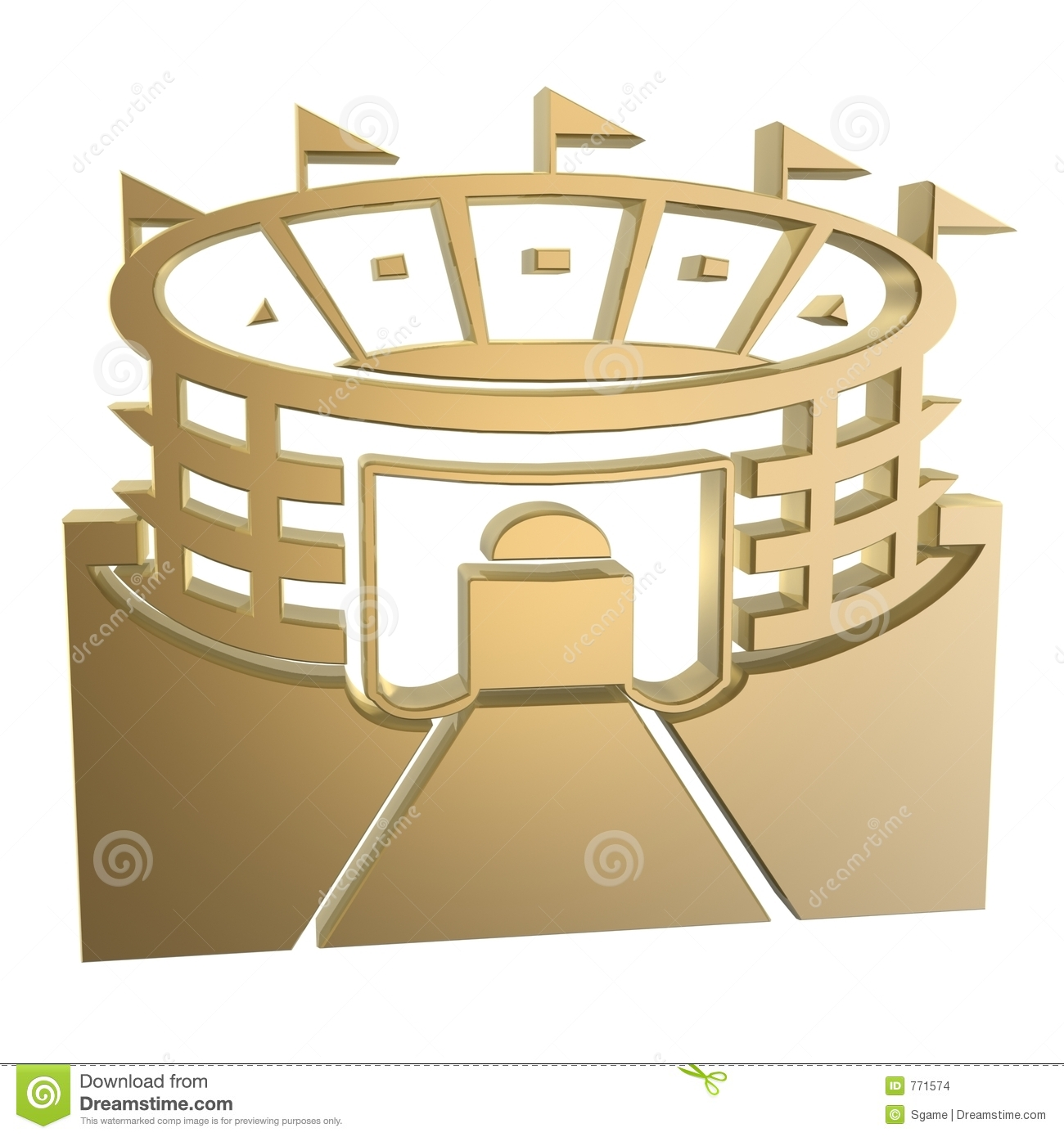 Stadium Symbol Stock Images   Image  771574