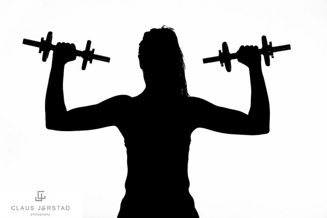 Image Gallery silouette workout