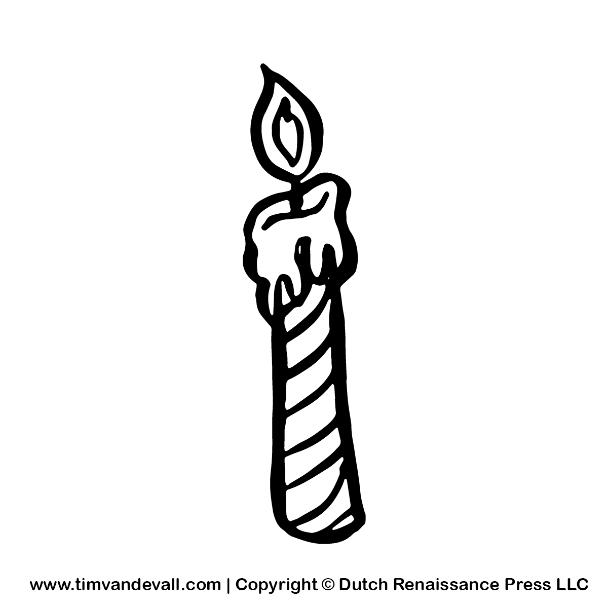Candle Clipart   Free Birthday Party Clipart For Kids
