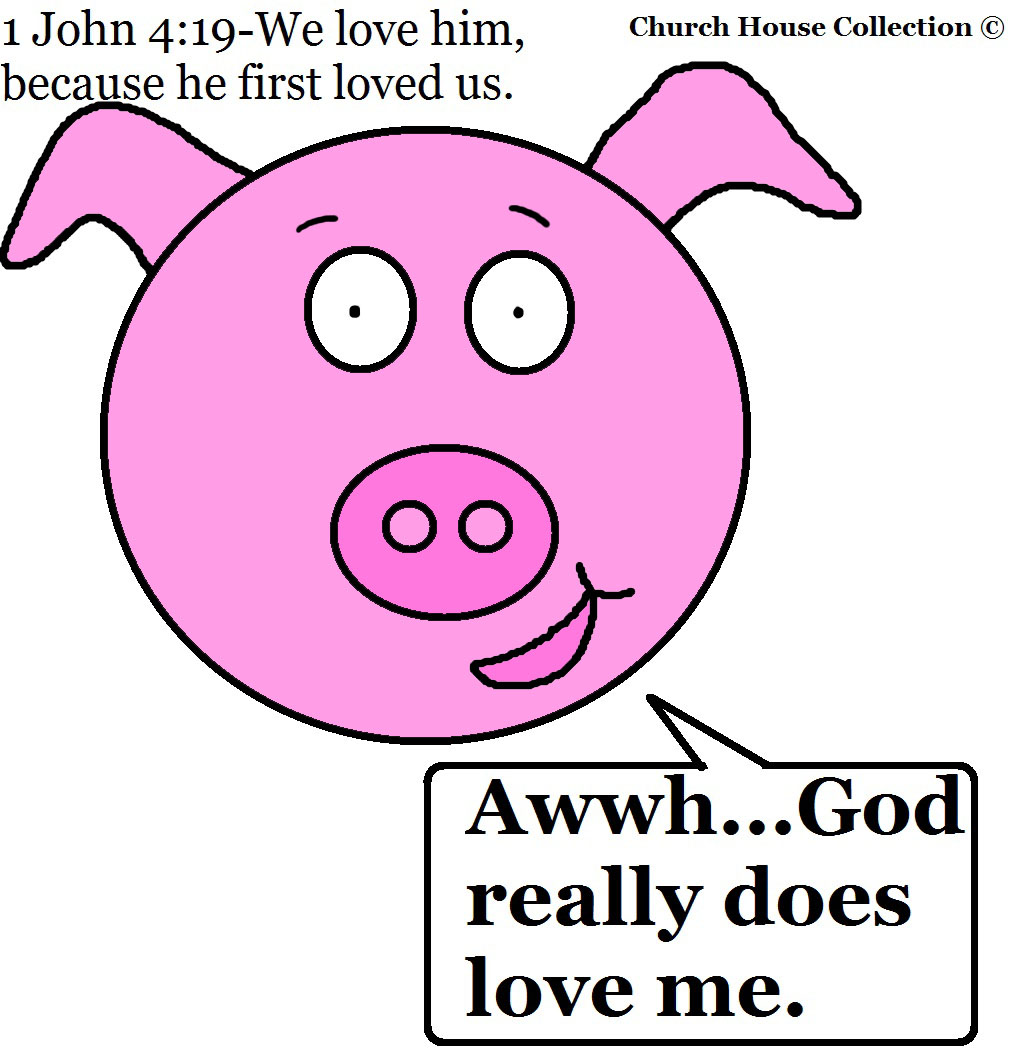 Church House Collection Blog  God Really Does Love Me Clipart