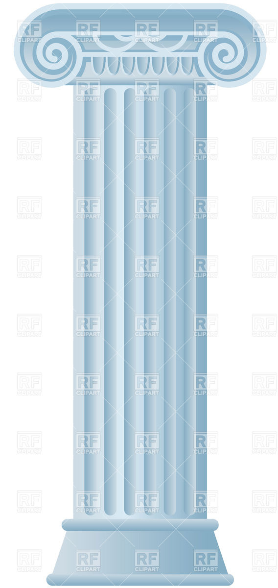 Classic Roman Pillar Download Royalty Free Vector Clipart  Eps