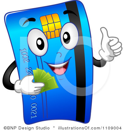 Credit Clipart Royalty Free Credit Card Clipart Illustration 1109004