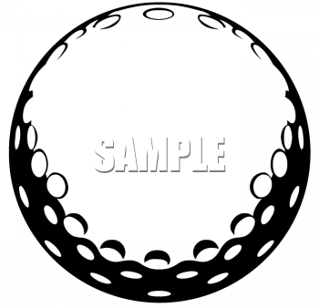 Funny Golf Black And White Clipart - Clipart Suggest