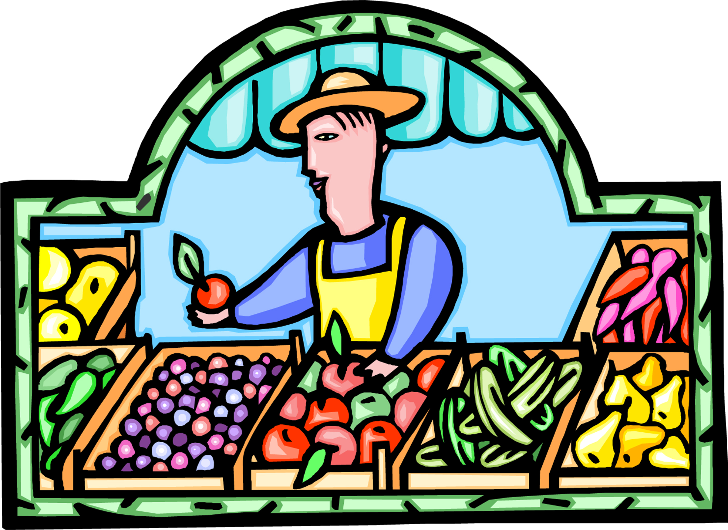 Farmers Market Clipart - Clipart Suggest