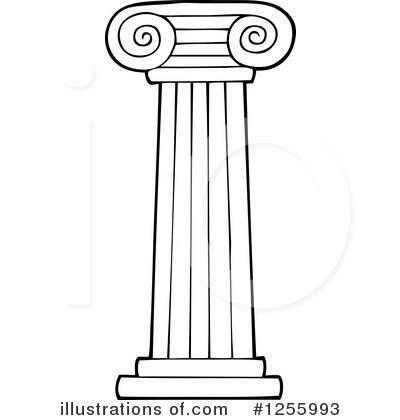 White pillar clip art