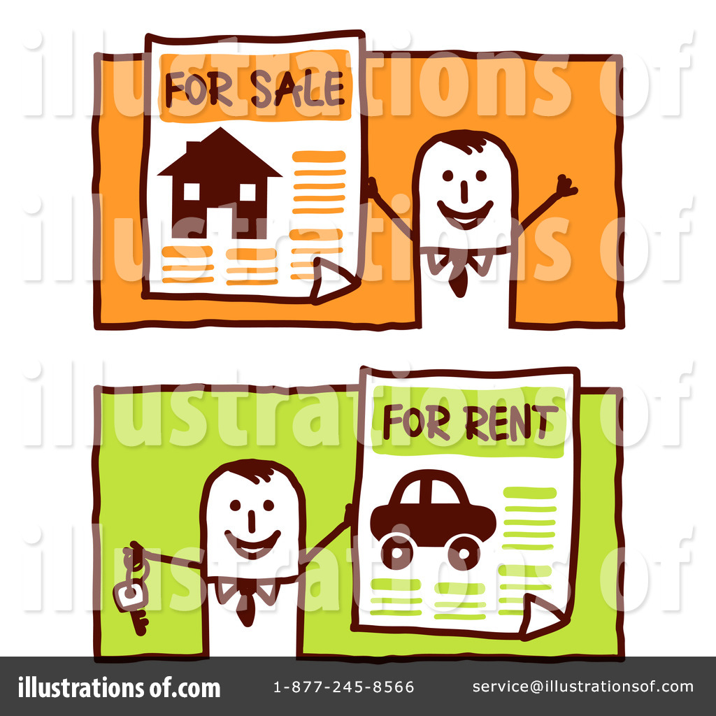 Rental Clipart  212102   Illustration By Nl Shop