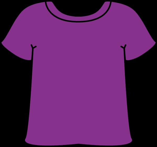 Sleeve Clipart Purple Tshirt Png