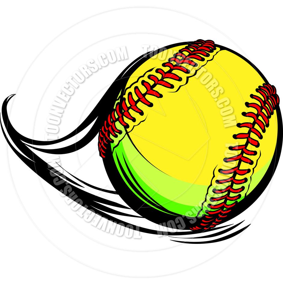 Softball: Girls Fastpitch Softball Clipart
