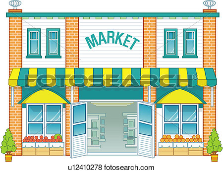 Clip Art Market Clipart market clipart kid stock illustration the fotosearch search eps clip art