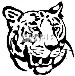 Tiger Clipart Black And White Black And White Tiger Royalty Free