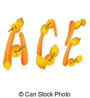 Ace Letter Of Fruits   Multivitamin Ace Letter Of Three