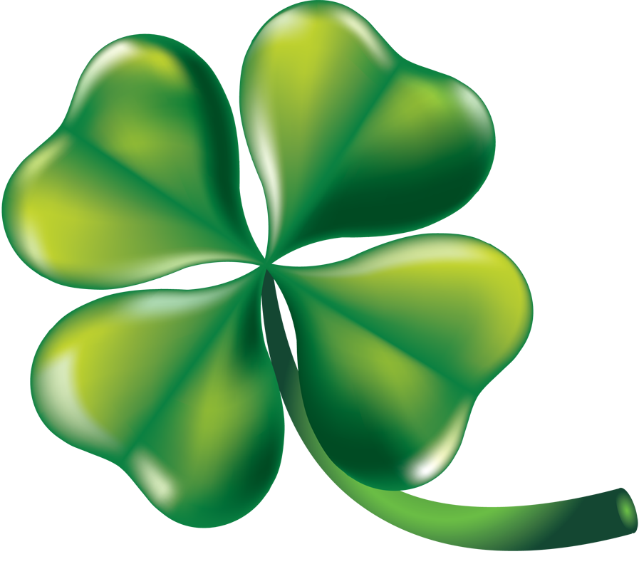 Clipartfort  Holidays   St  Patrick S Day   Four Leaf Clover