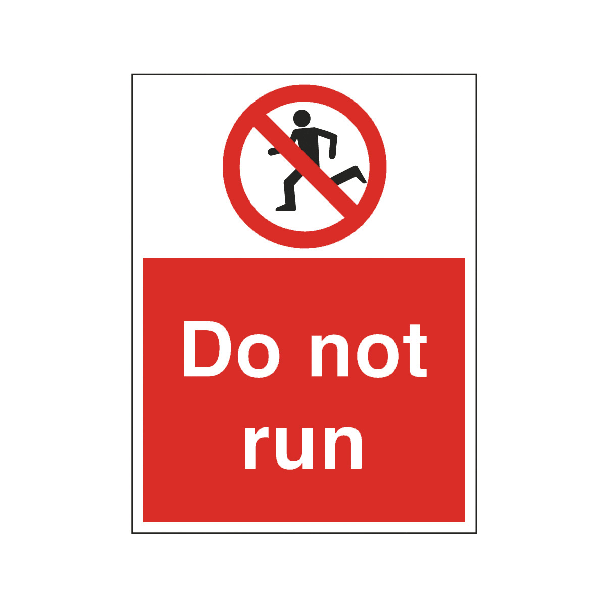 Do Not Run Safety Signs Symbols   Free Cliparts That You Can