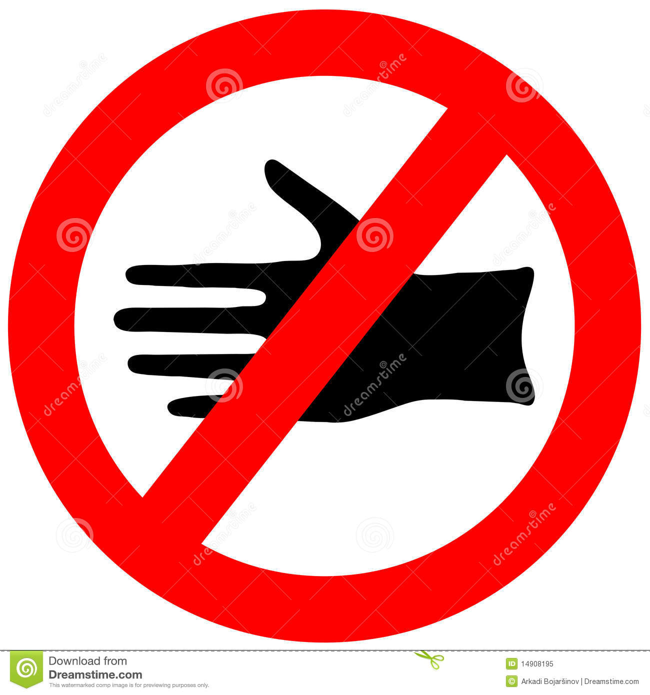 Do Not Touch Clipart   Cliparthut   Free Clipart