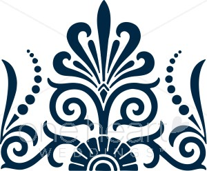 Navy Blue Fan Clipart   Clipart Color Variations