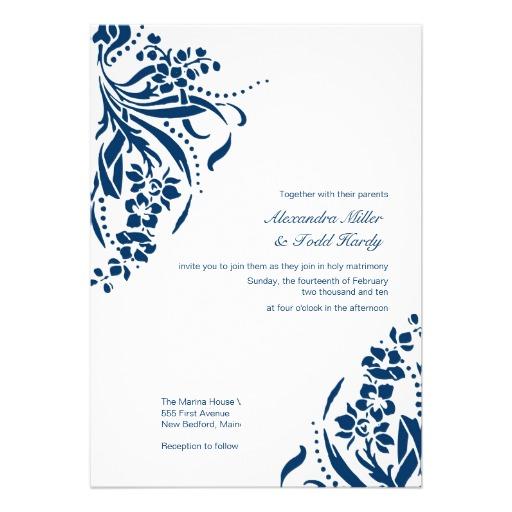 Navy Blue Wedding Clipart