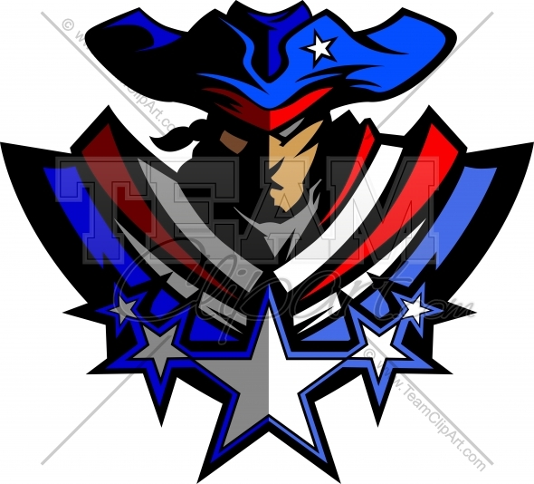 Patriot Mascot Logo Vector Clipart Image Images   Frompo