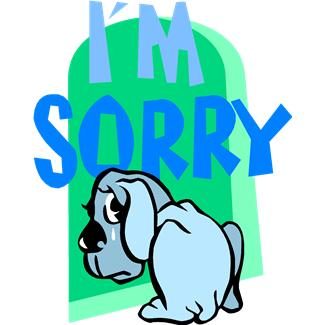 Clip Art Sorry Clipart im sorry clipart kid panda free images