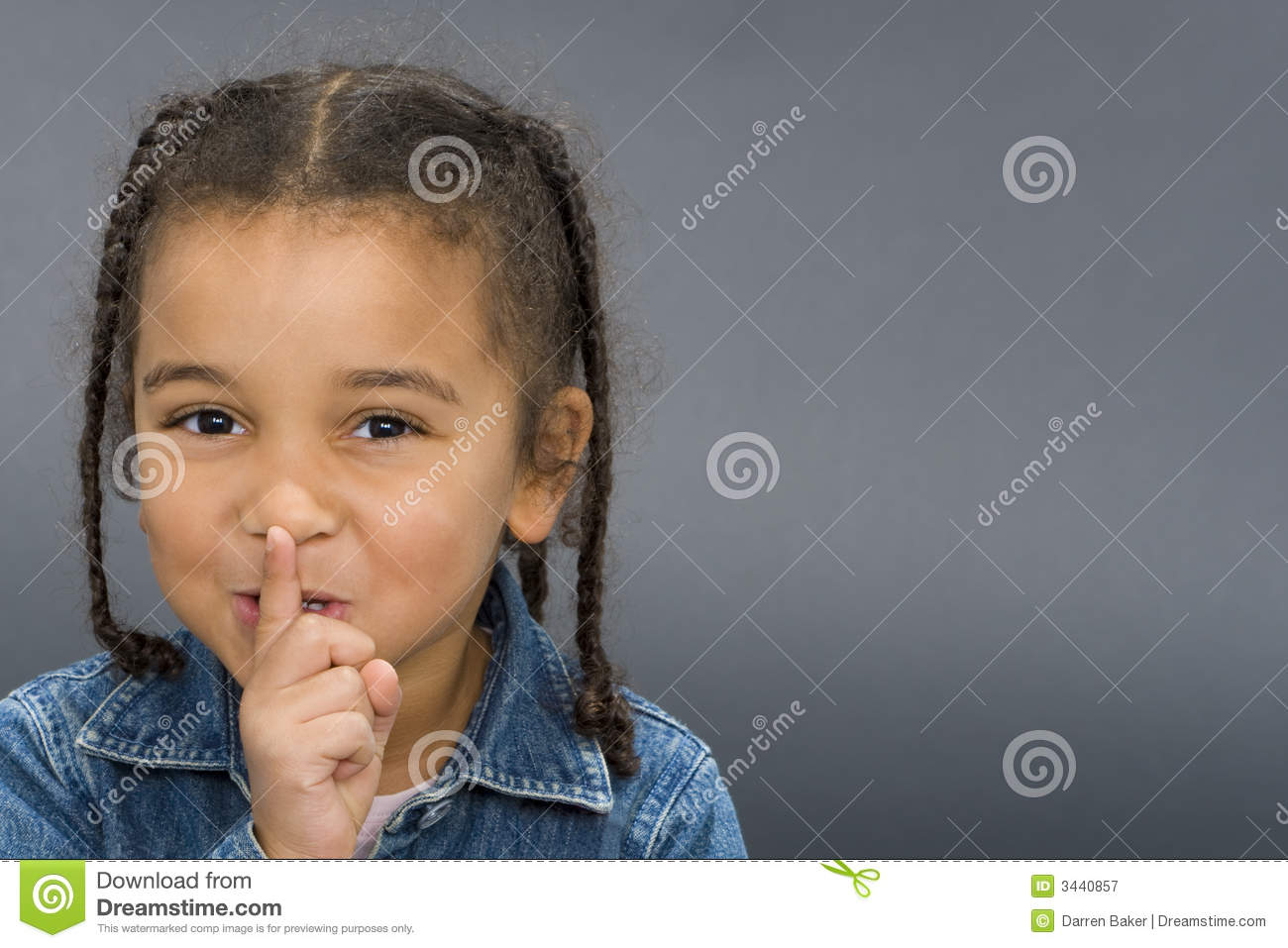 Ssshhh  Royalty Free Stock Photography   Image  3440857