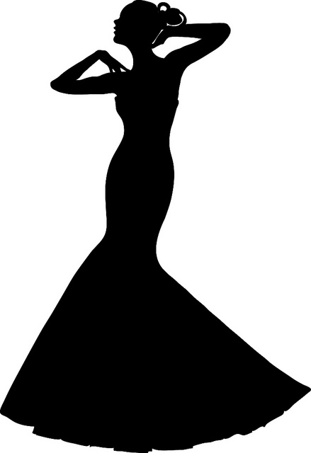 Ladies Dress Png Clipart - Clipart Kid